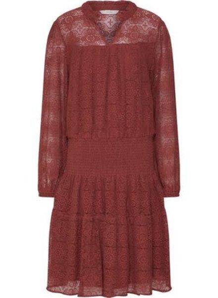 Nümph Numph, Numeara Dress, Mahogany