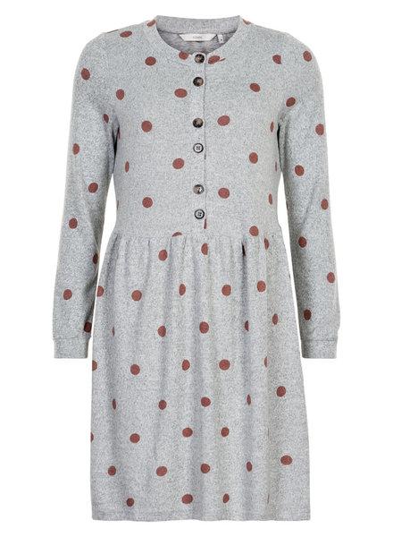 Nümph Nümph, Nuaquilia Jersey Dress, Grey