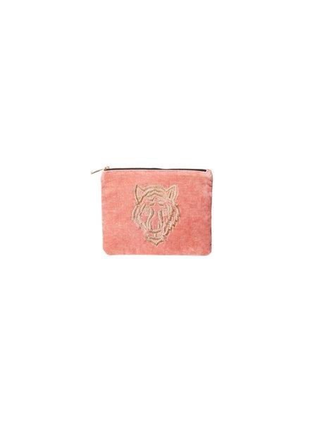 Bulu Brands, Etui Tiger, Velvet Blush Pink