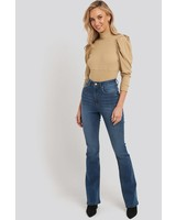 NA-KD NA-KD, Bootcut jeans, Mid blue
