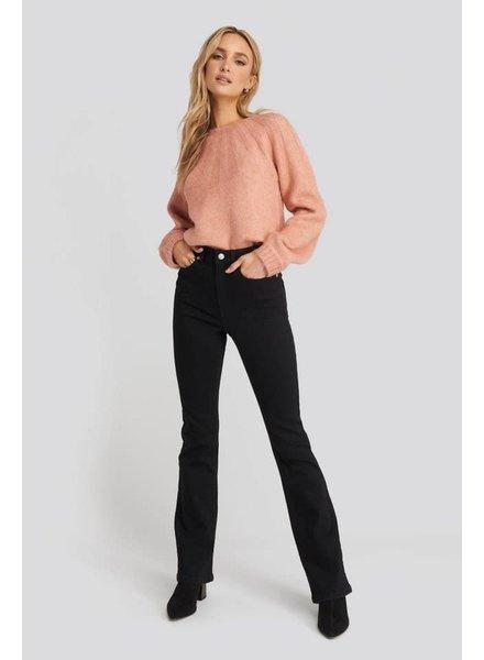 NA-KD NA-KD, Bootcut jeans, Black