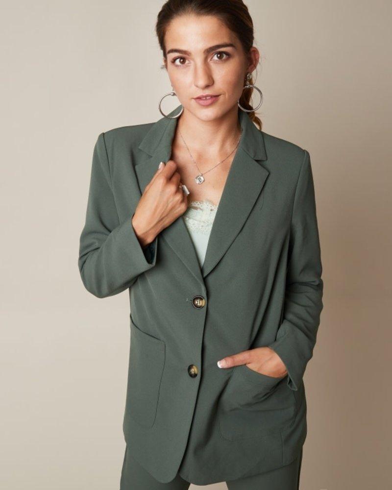 YW, Blazer Girlboss, Green