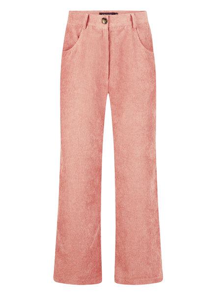 Ydence Ydence, Pants Marijn Rib, Soft Pink
