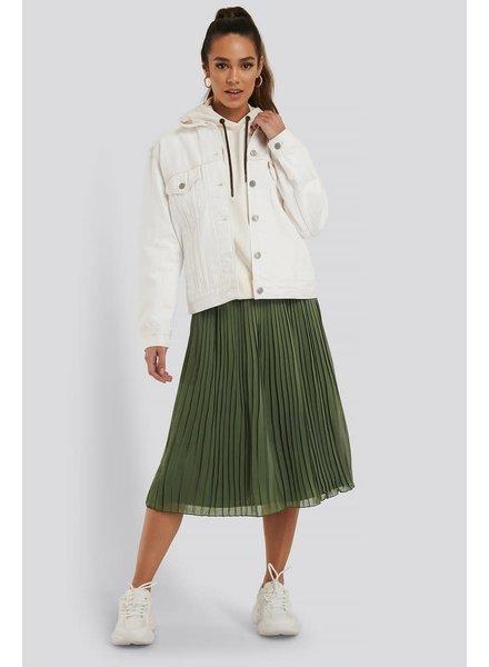 NA-KD NA-KD, Pleated Midi Skirt, Olive