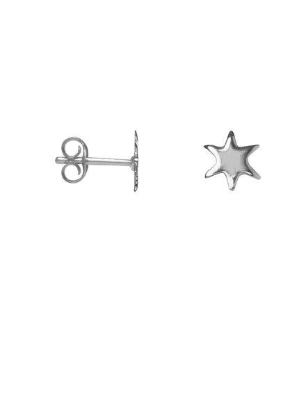 Label Kiki, Earring mini star, Silver