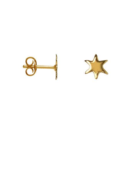 Label Kiki, Earring mini star, Gold