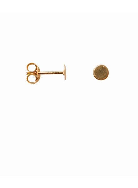 Label Kiki, Earring circle, Gold