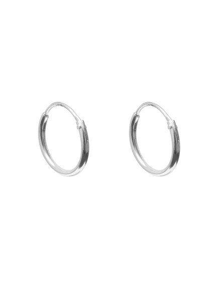 Label Kiki, Earring hoops, Silver