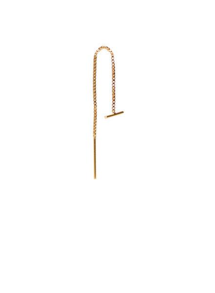 Label Kiki, Earring chain, Gold