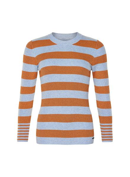 Nümph Nümph, Numeissa Rollneck Sweater, Dusty Blue