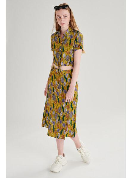 Skirt print, Yellow