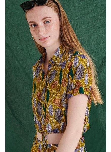 Shirt print, Yellow