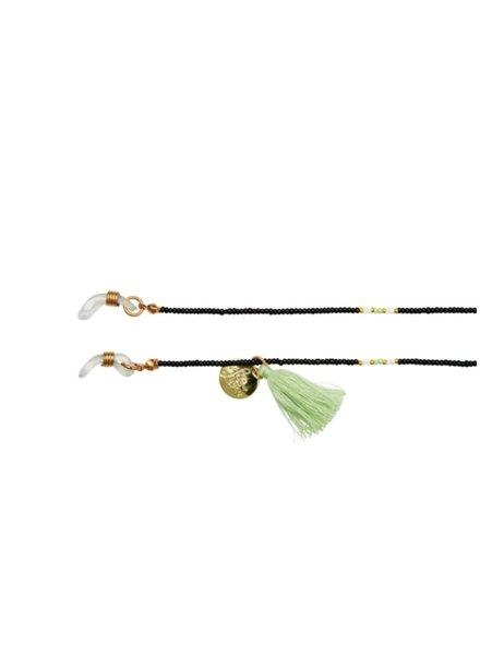 Bulu Brands, Happy Beads Suncord, Black & Mint