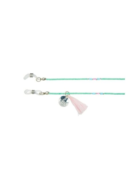 Bulu Brands, Happy Beads Suncord, Mint & Silver