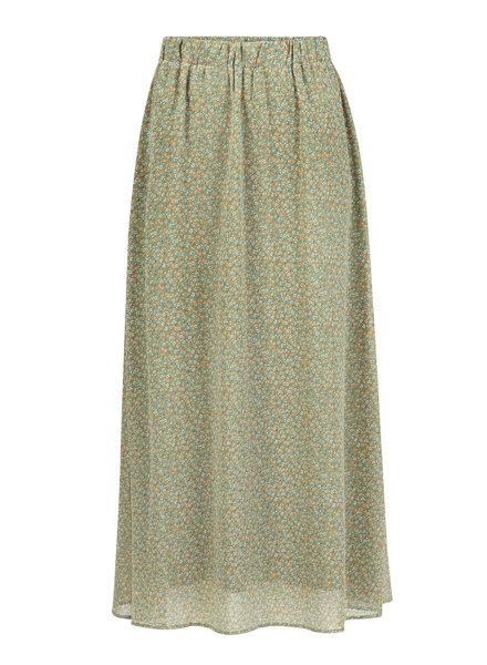 Ydence Ydence, Skirt Rose, Green Flower Print