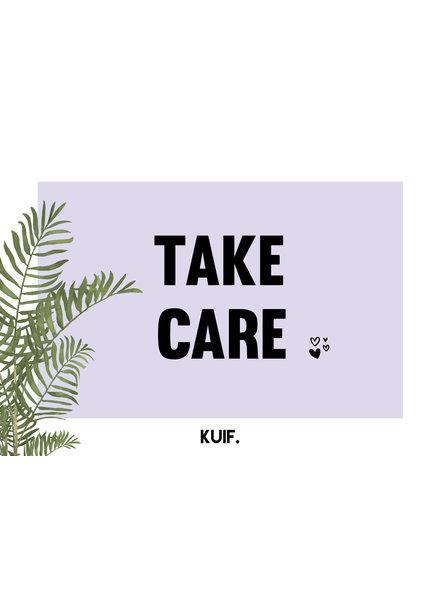 kaartenlijn KUIF, Take care