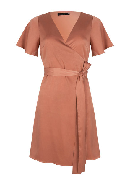 Ydence Dress Blanche, Pink/Brown