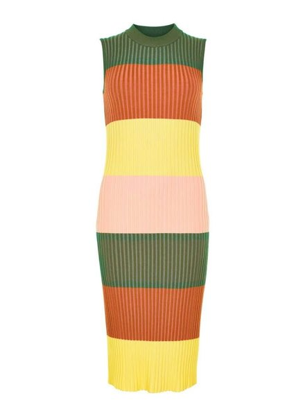 Nümph Nümph, Nubrichette Knit Dress, Olive