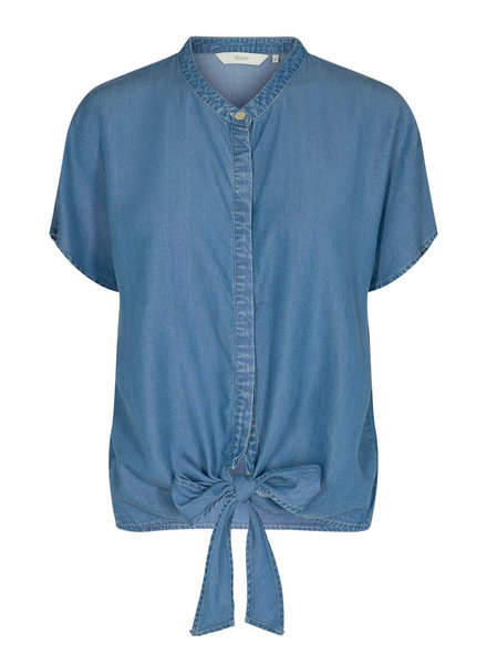 Nümph Nümph, Nuayleth Blouse New, Medi Blue