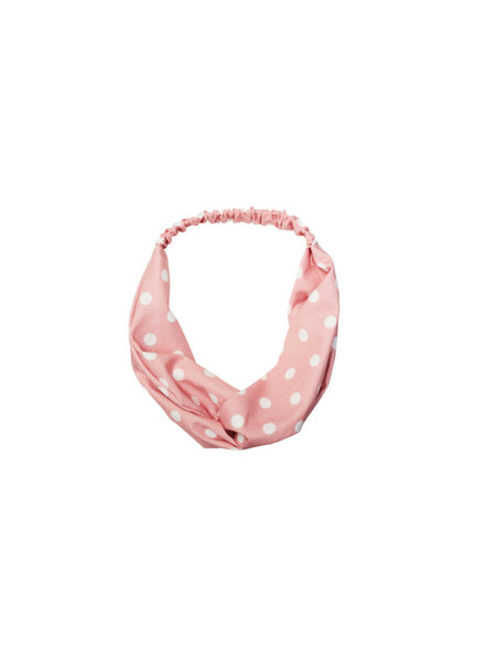 Bulu Brands, Headband Dots, Soft Pink