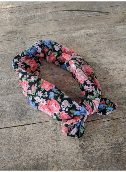 Bulu Brands, Headband Flower, Multicolor Rose