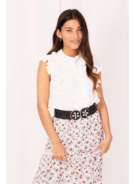 Blouse Roesel, Wit