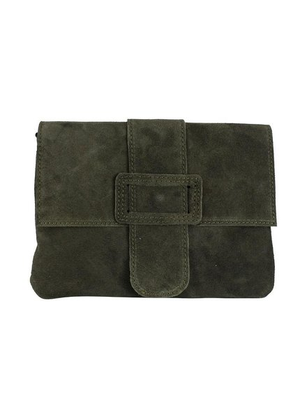 BS - Belt bag suede - Groen