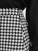 NA-KD NA-KD, A-line Houndstooth Skirt, Black/White