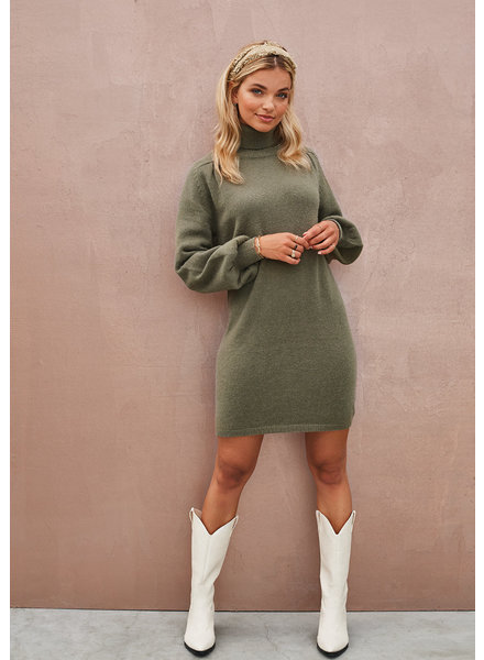 Ydence Ydence, knit Dress Eveline, Army