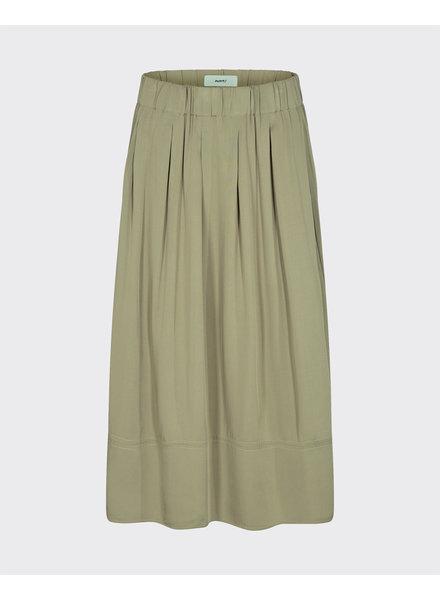 Moves Skirt kia-midi, Olive green