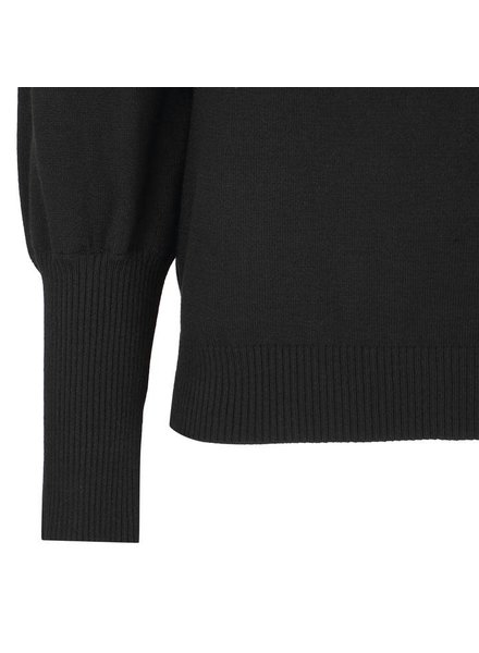 Soft Rebels, Leana Roll Neck Knit, Black