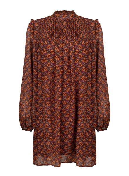 Ydence Ydence, Dress Celine, Brown/orange