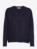 Zara v-neck knit, Navy