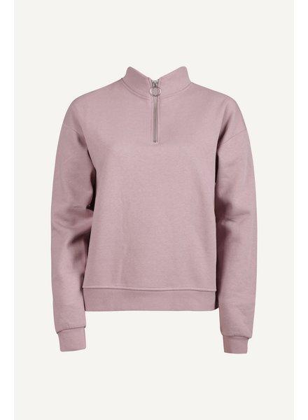 Sweater met rits, Lila