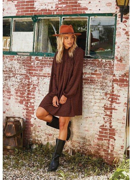 Ydence Dress Celine, Black