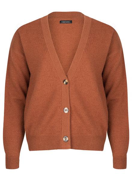 Ydence Ydence, vest Jenn, brown