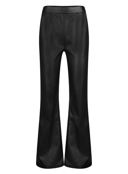 Ydence Ydence, Lois flared, leather black