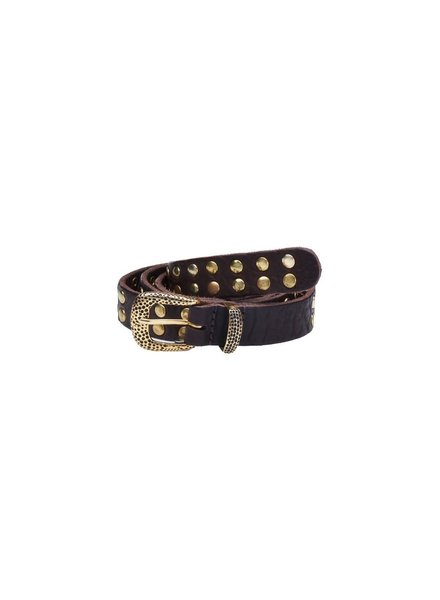 Elvy Elvy, 20848 Studs Belt Women, Black