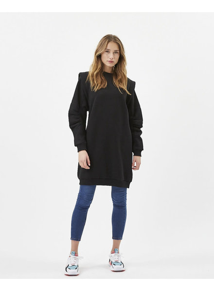 Moves Moves, Questas Hoodie Dress, Black