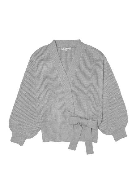 Yehwang, Cardigan Wrap It Up, Grey