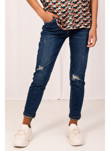 Turquoise, Jeans Destroyed, Jeans