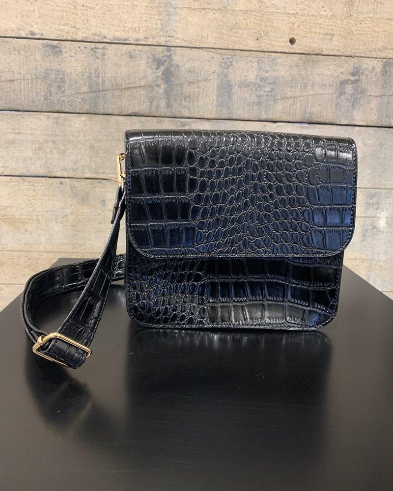 Elvy Elvy, Nancy Shoulder Bag, Black