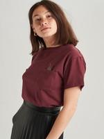 24Colours, T-shirt, Bordeaux