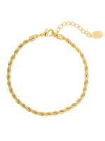 ARMBAND, CHAIN REACTION, GOLD