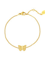 ARMBAND BUTTERFLY, GOUD