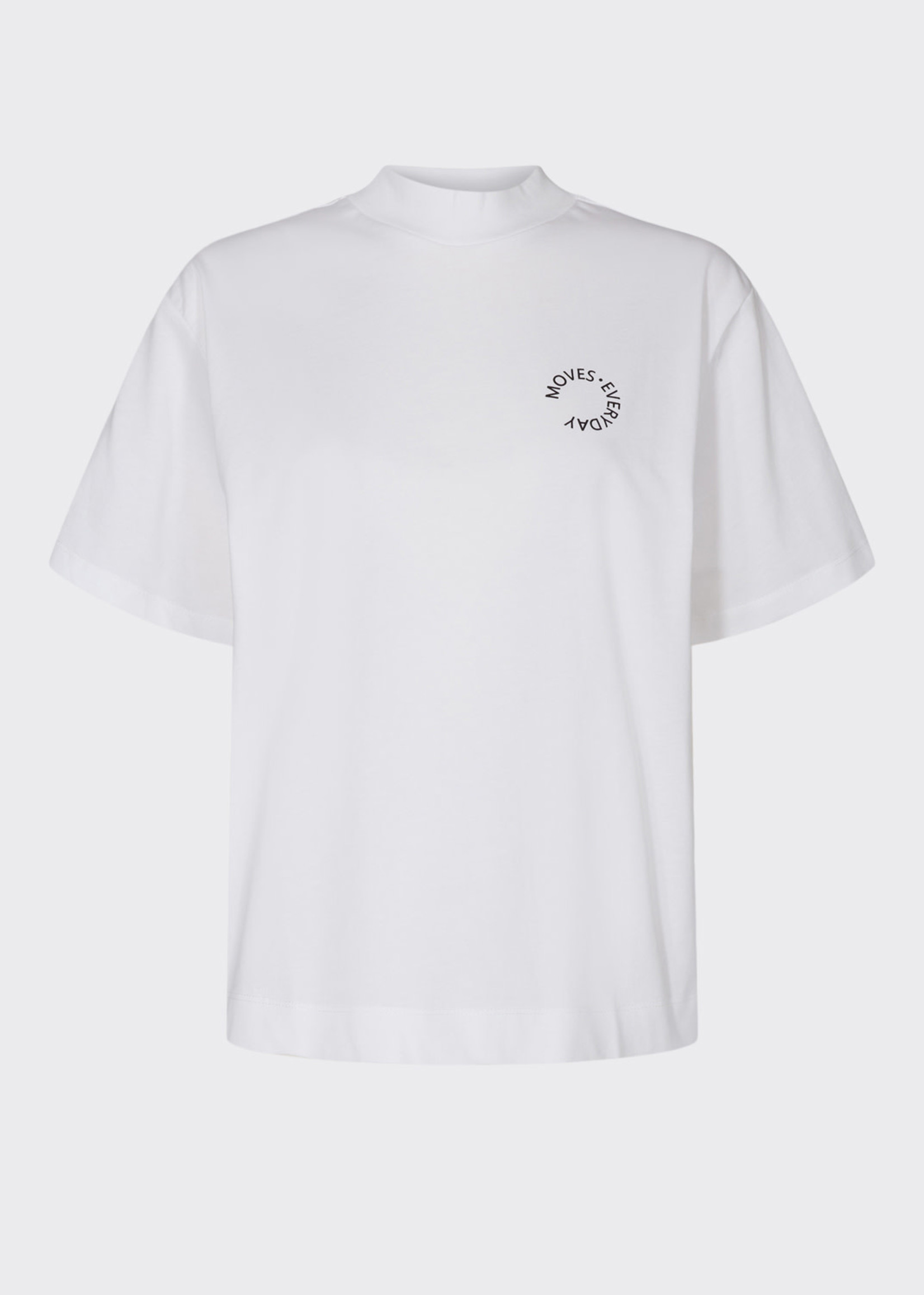 MOVES MOVES, T-SHIRT SIELLA, WIT