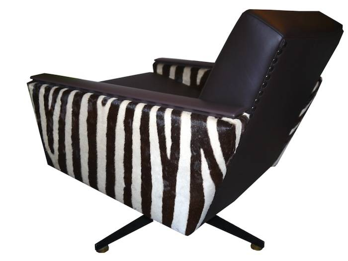 Zebra Sessel  Lounge MO035