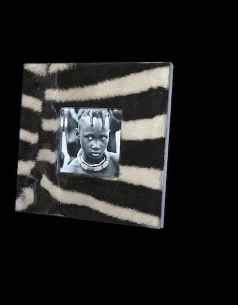 Bilderrahmen Zebra Quadrat BR024