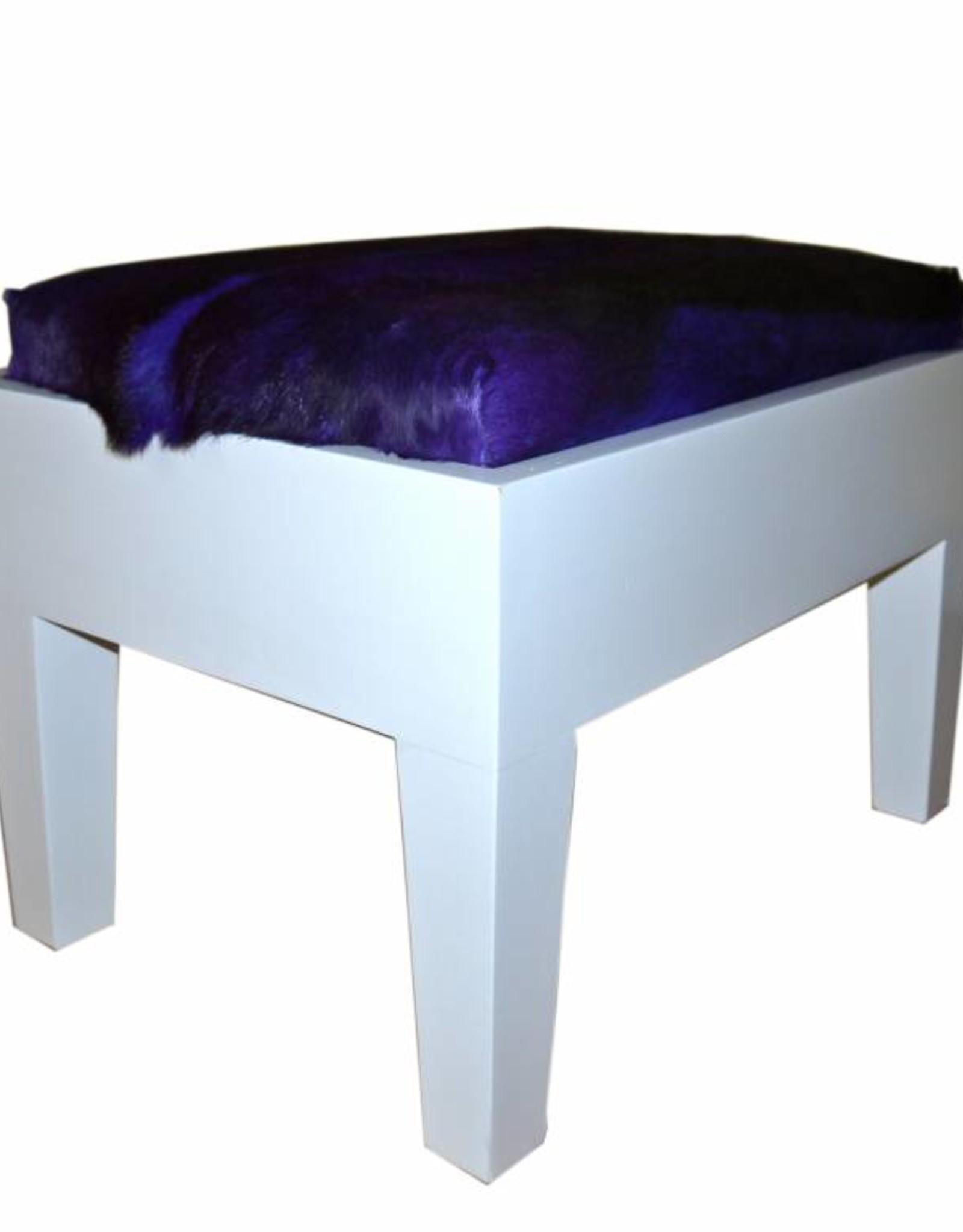 Springbock Hocker Piano Purpel