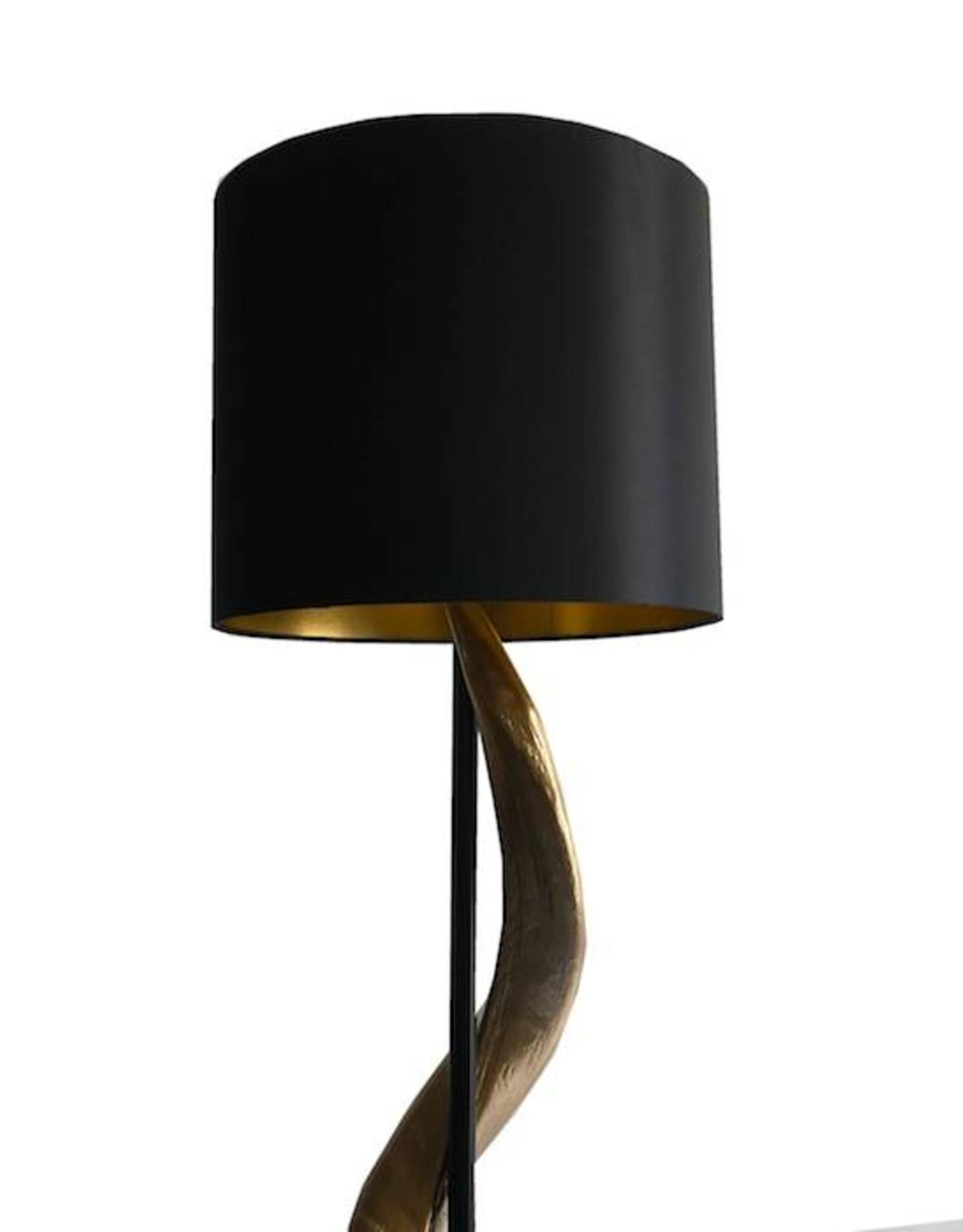 Kudohorn Lampe Black Lounge